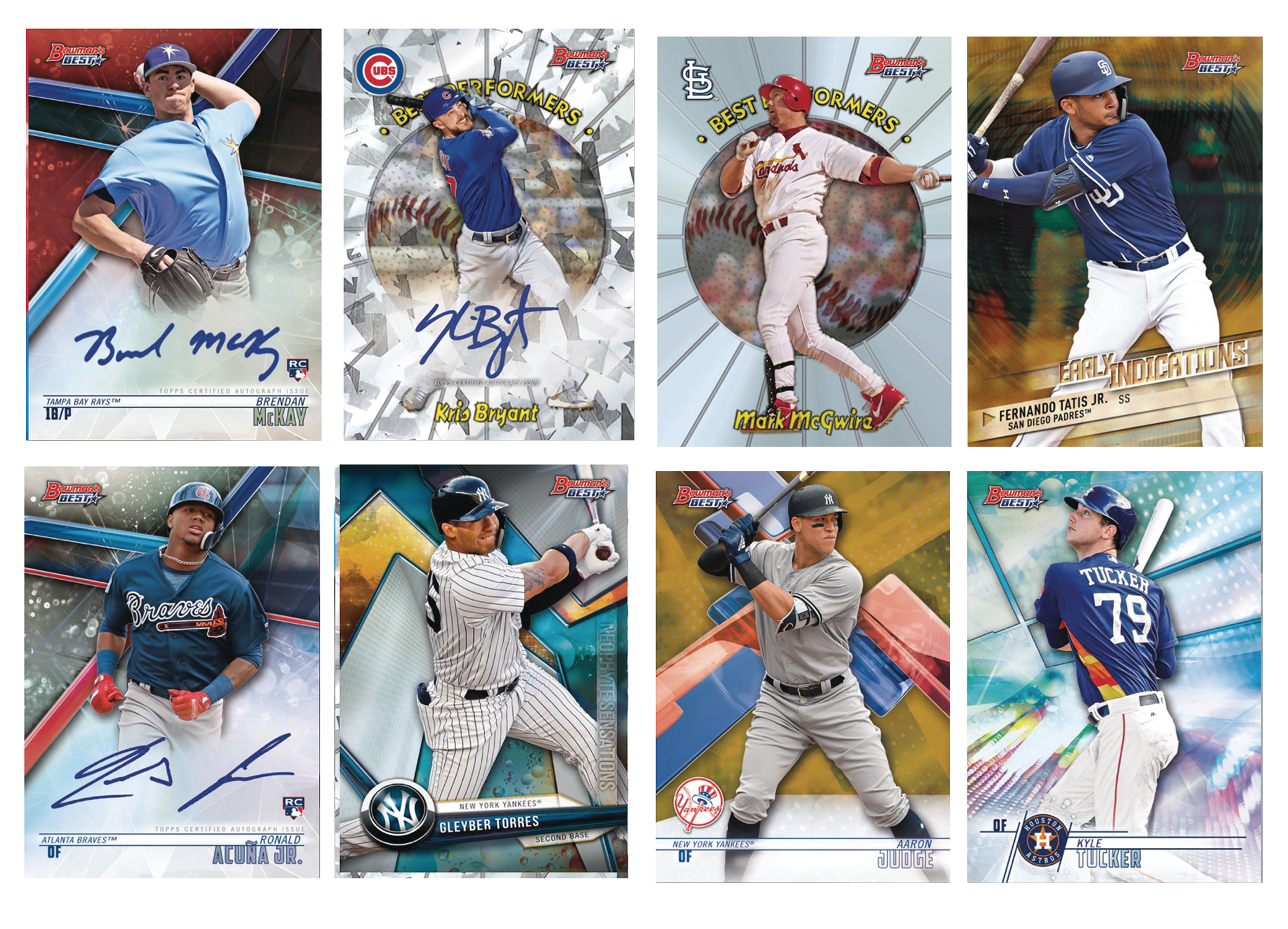 BOWMAN 2018 BEST BASEBALL T/C MASTER BOX