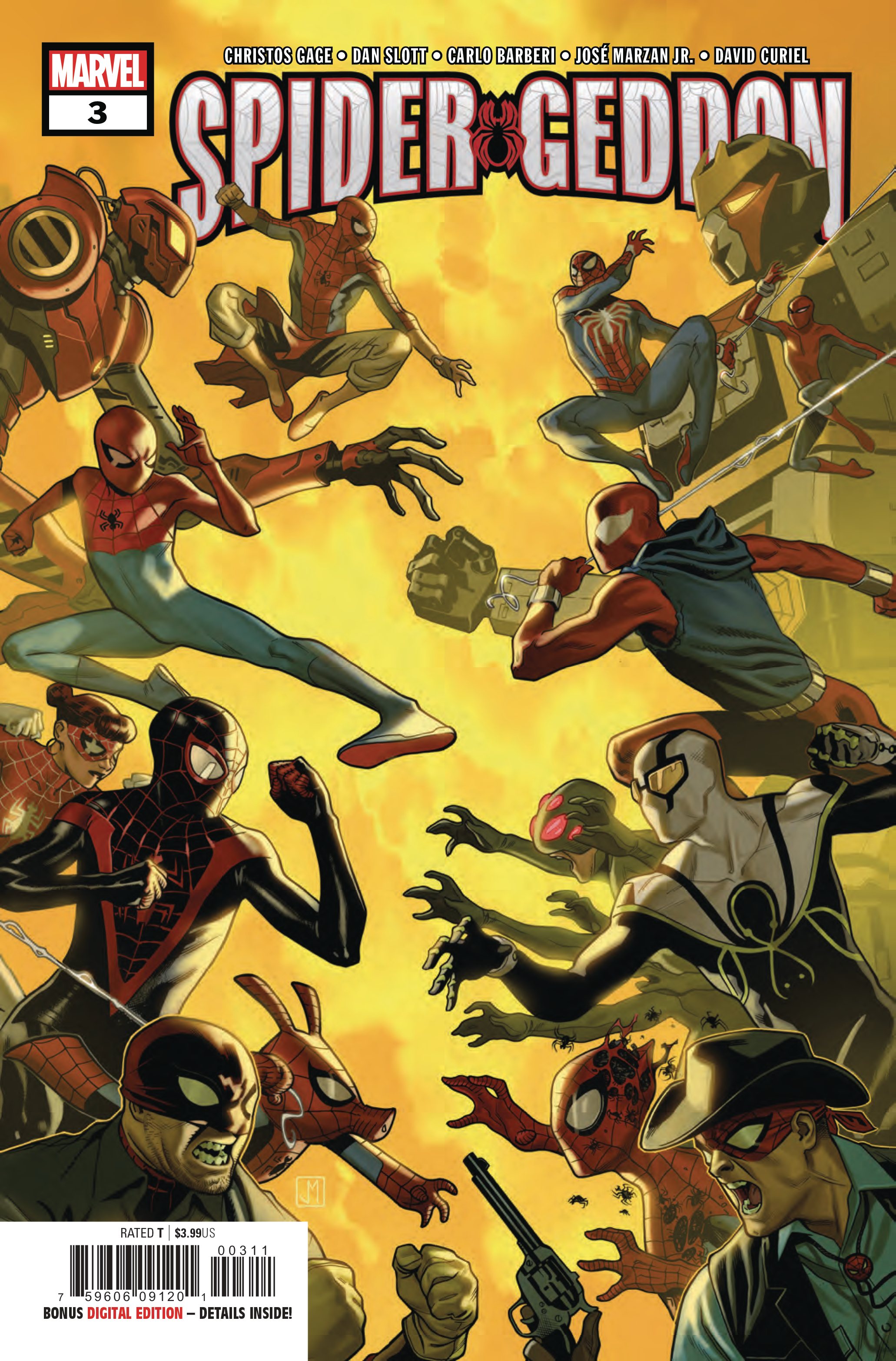 SPIDER-GEDDON #3 (OF 5)