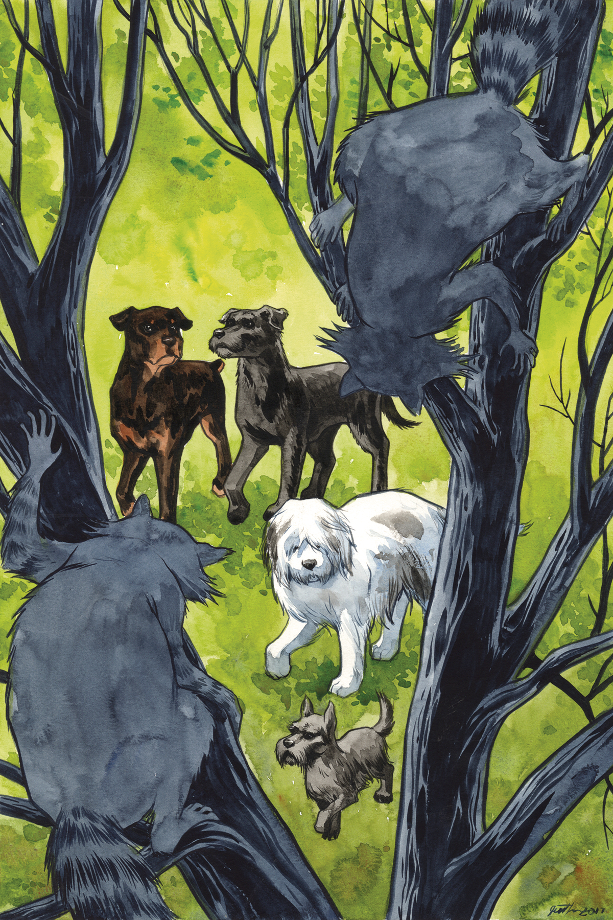 BEASTS OF BURDEN WISE DOGS & ELDRITCH MEN #4 (OF 4) CVR B TH
