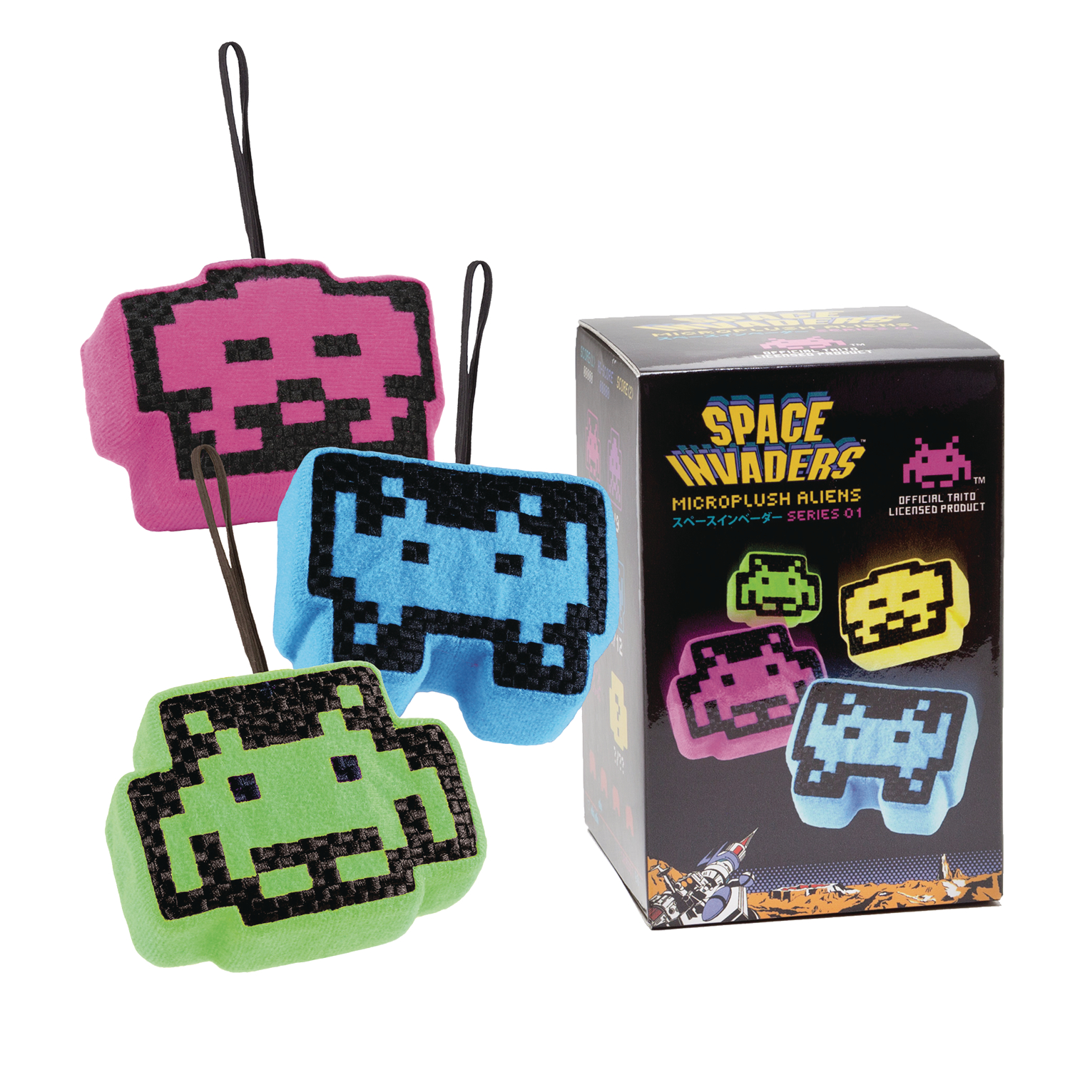 SPACE INVADERS MICROPLUSH BMB DIS