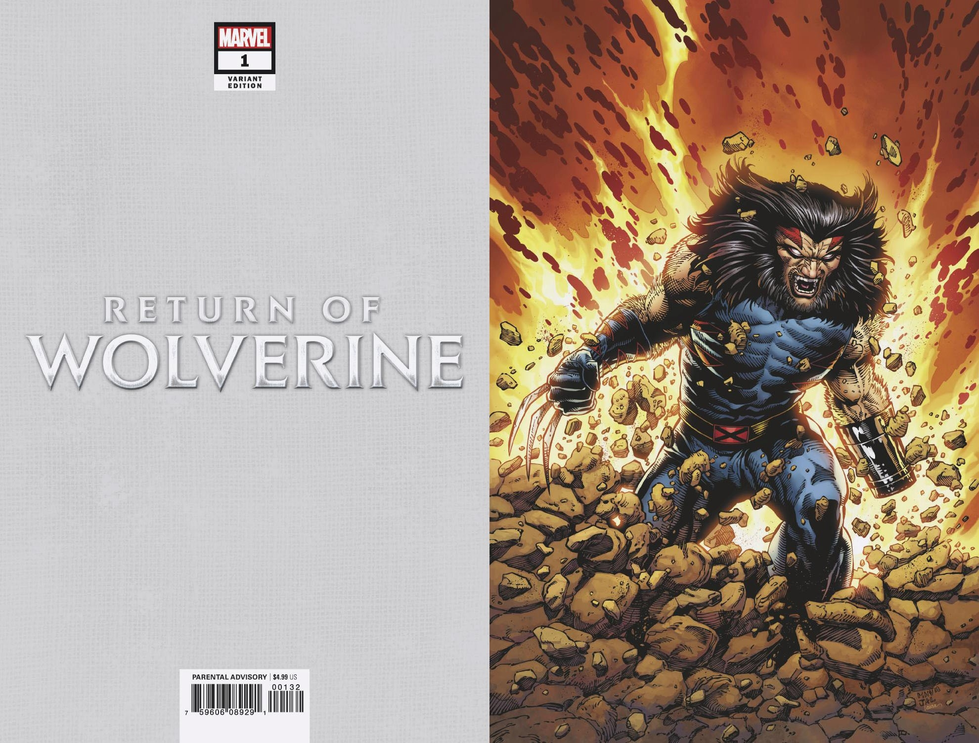 RETURN OF WOLVERINE #1 (OF 5) MCNIVEN AGE OF APOCALYPSE COST