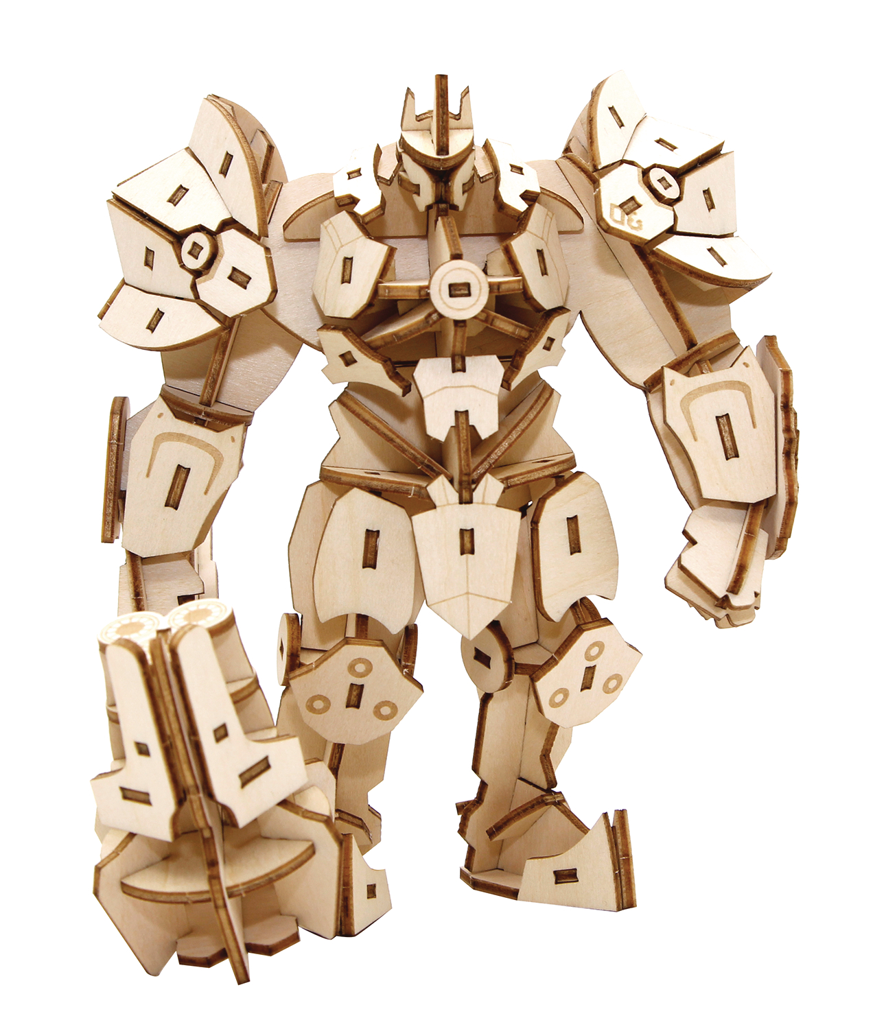 INCREDIBUILDS OW REINHARDT 3D WOOD MODEL & POSTER