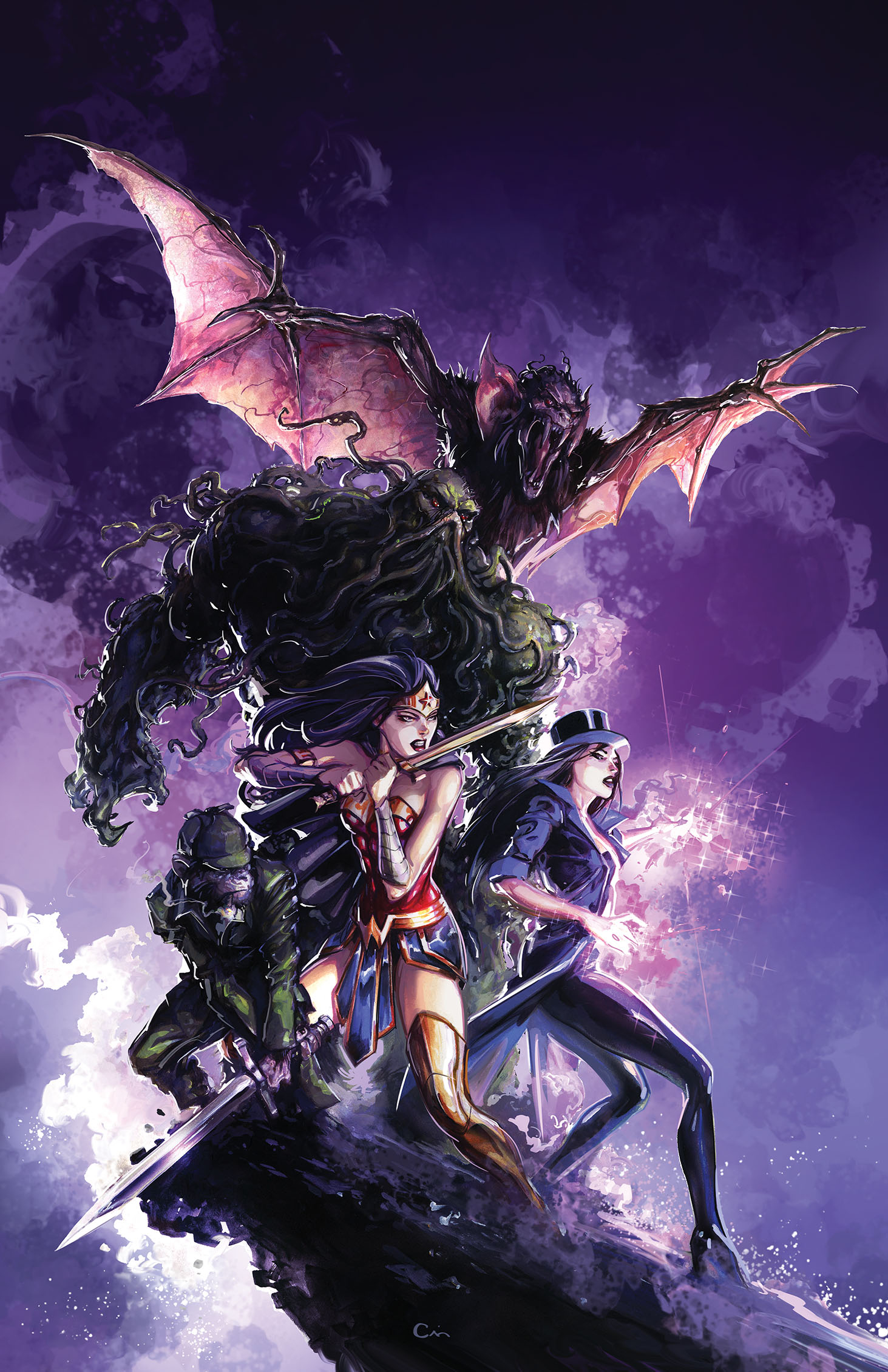 JUSTICE LEAGUE DARK #5 VAR ED