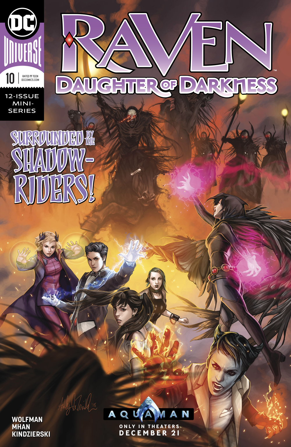 RAVEN DAUGHTER OF DARKNESS #10 (OF 12)