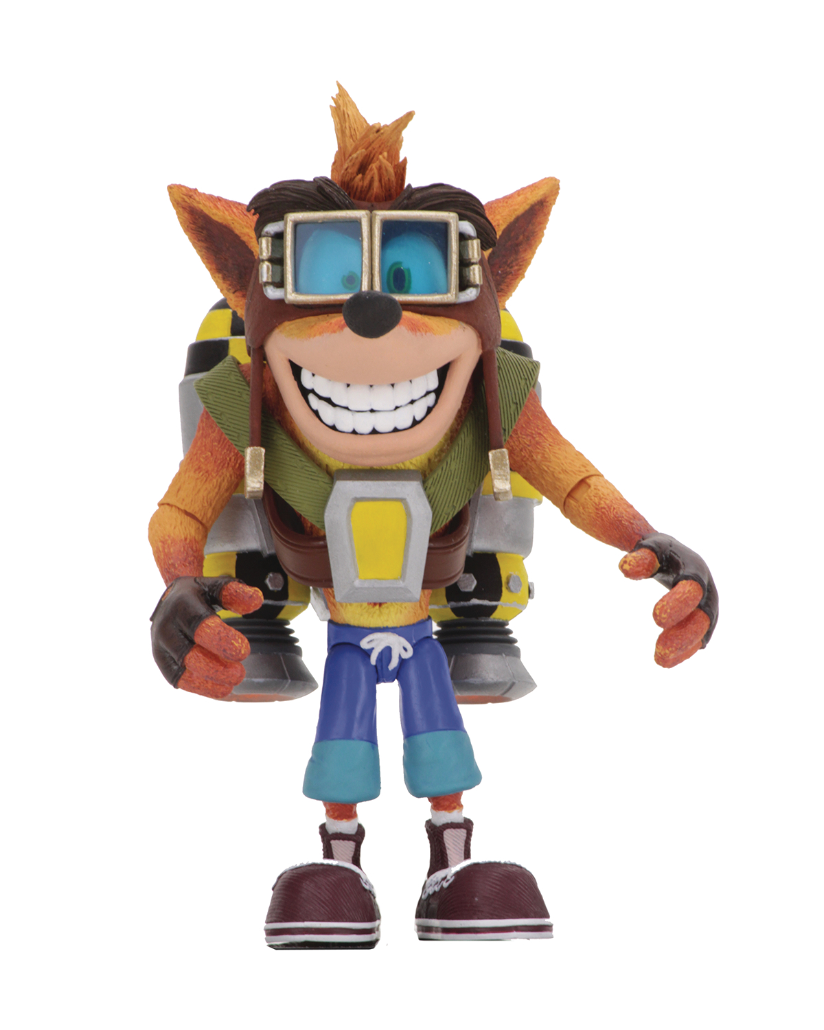 CRASH BANDICOOT CRASH W/JETPACK DELUXE ACTION FIGURE