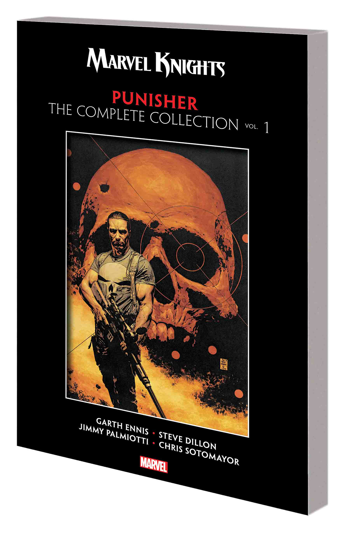 MARVEL KNIGHTS PUNISHER BY ENNIS COMPLETE COLLECTION TP VOL