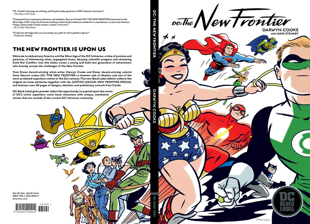 DC THE NEW FRONTIER TP NEW ED BLACK LABEL