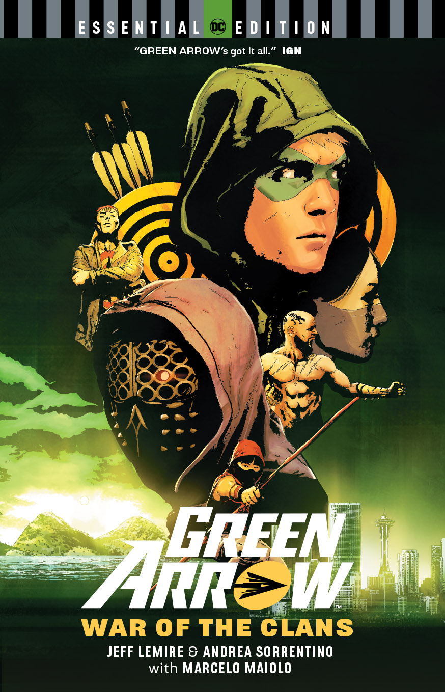 GREEN ARROW WAR OF THE CLANS ESSENTIAL EDITION TP