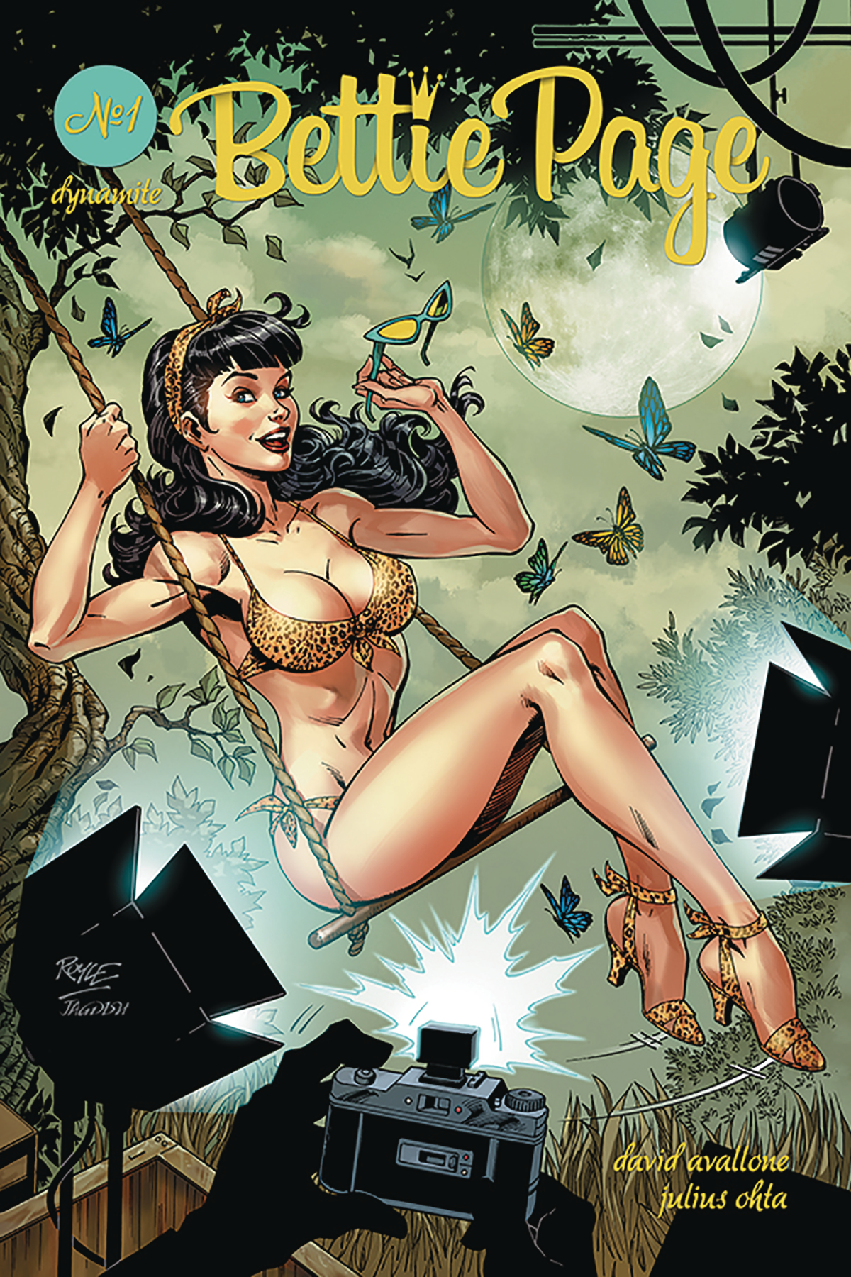 BETTIE PAGE #1 CVR A ROYLE (MR)