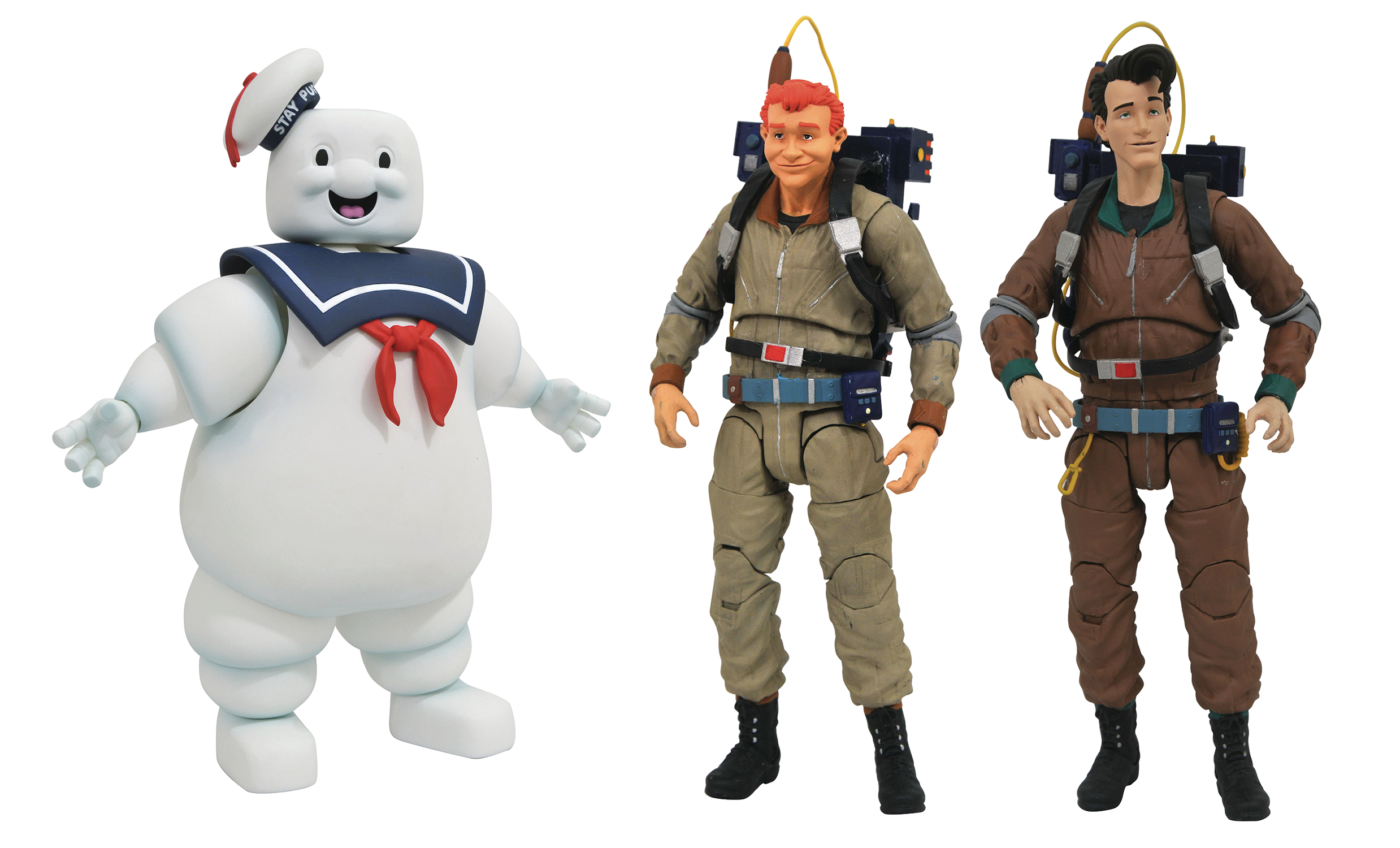 GHOSTBUSTERS SELECT AF SERIES 10 ASST