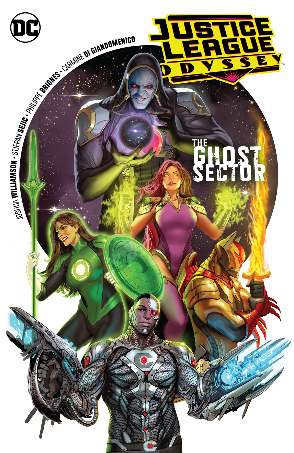 JUSTICE LEAGUE ODYSSEY TP VOL 01 THE GHOST SECTOR