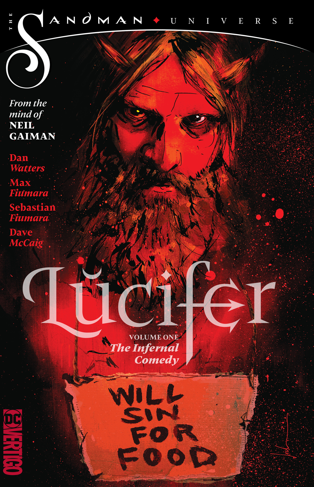 LUCIFER TP VOL 01 THE INFERNAL COMEDY (MAR190584) (MR)