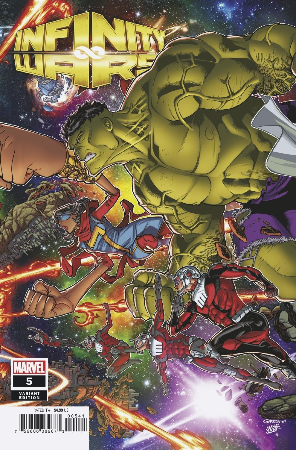 INFINITY WARS #5 (OF 6) GARRON CONNECTING VAR