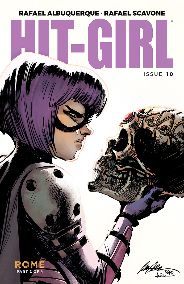 HIT-GIRL #10 CVR A ALBUQUERQUE (MR)