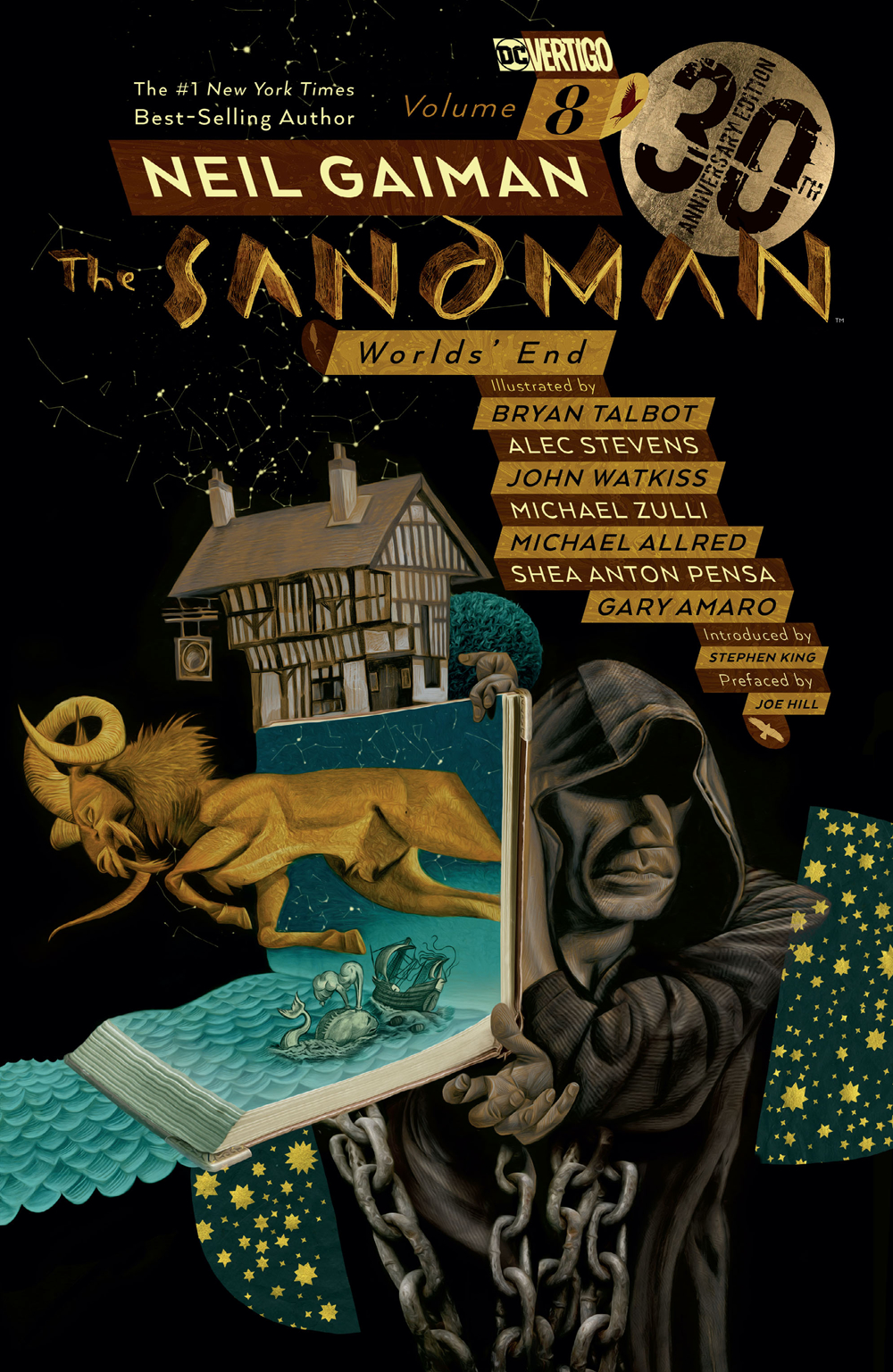SANDMAN TP VOL 08 WORLDS END 30TH ANNIV ED (MR)
