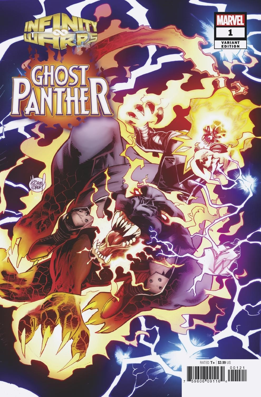 INFINITY WARS GHOST PANTHER #1 (OF 2) KUBERT CONNECTING VAR