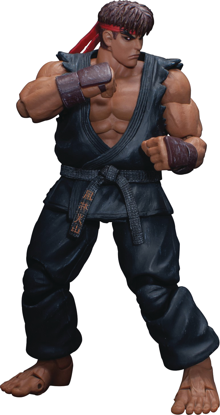 STORM COLLECTIBLES ULTRA STREET FIGHTER II EVIL RYU 1/12 AF