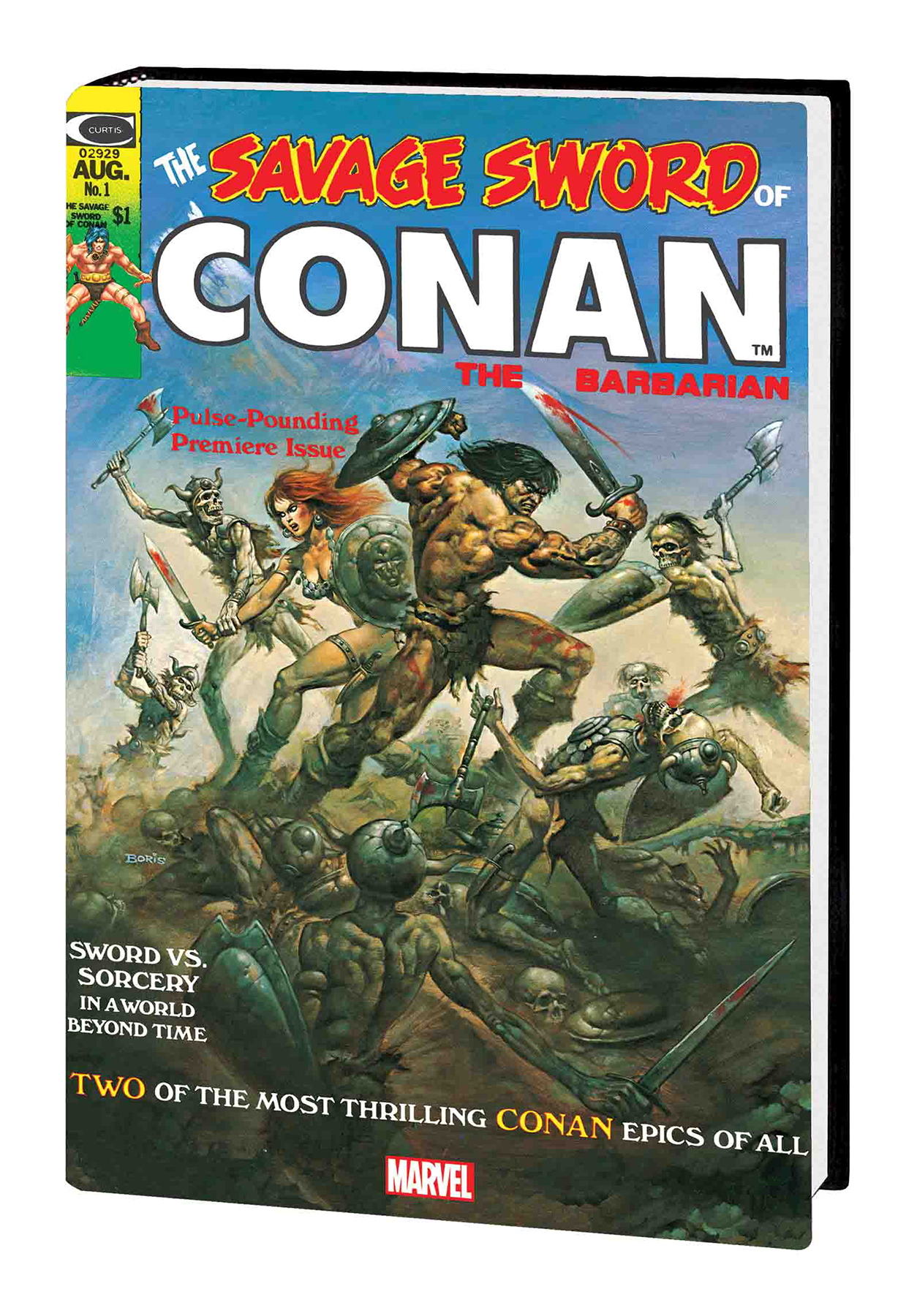 SEP181004 - SAVAGE SWORD CONAN HC ORIG MARVEL YRS OMNIBUS
