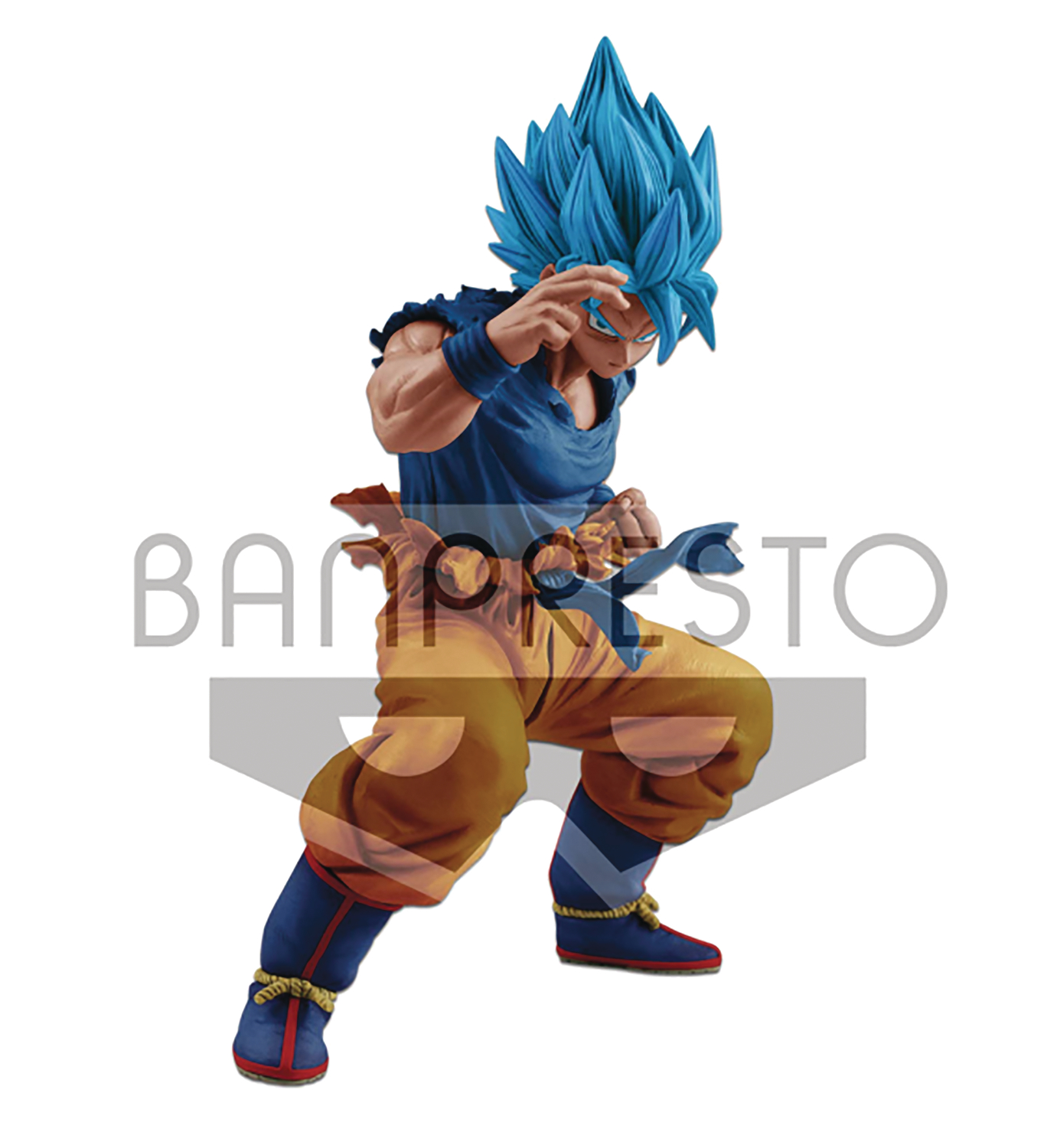 DRAGONBALL SUPER MASTERLISE SS GOD SS SON GOKU FIG
