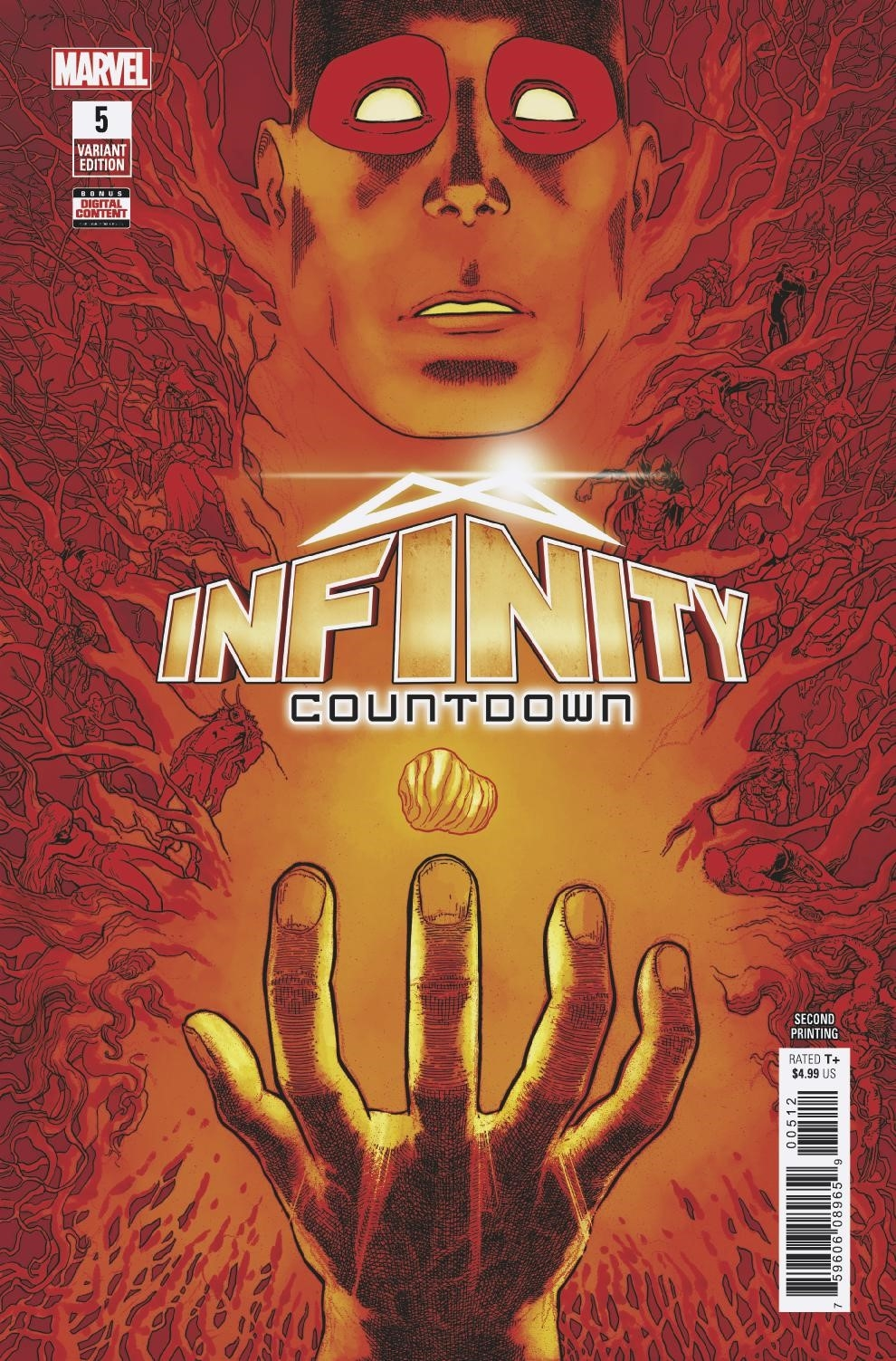 INFINITY COUNTDOWN #5 (OF 5) 2ND PTG HAWTHORNE VAR