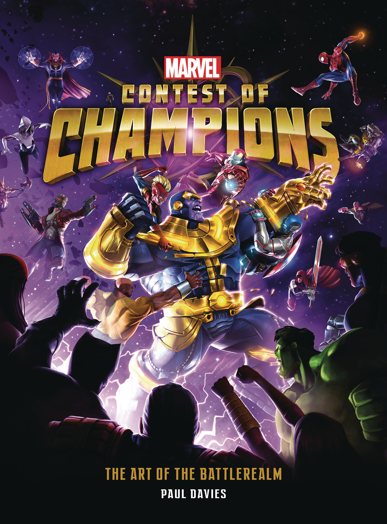 MARVEL CONTEST OF CHAMPIONS ART OF BATTLEREALM HC