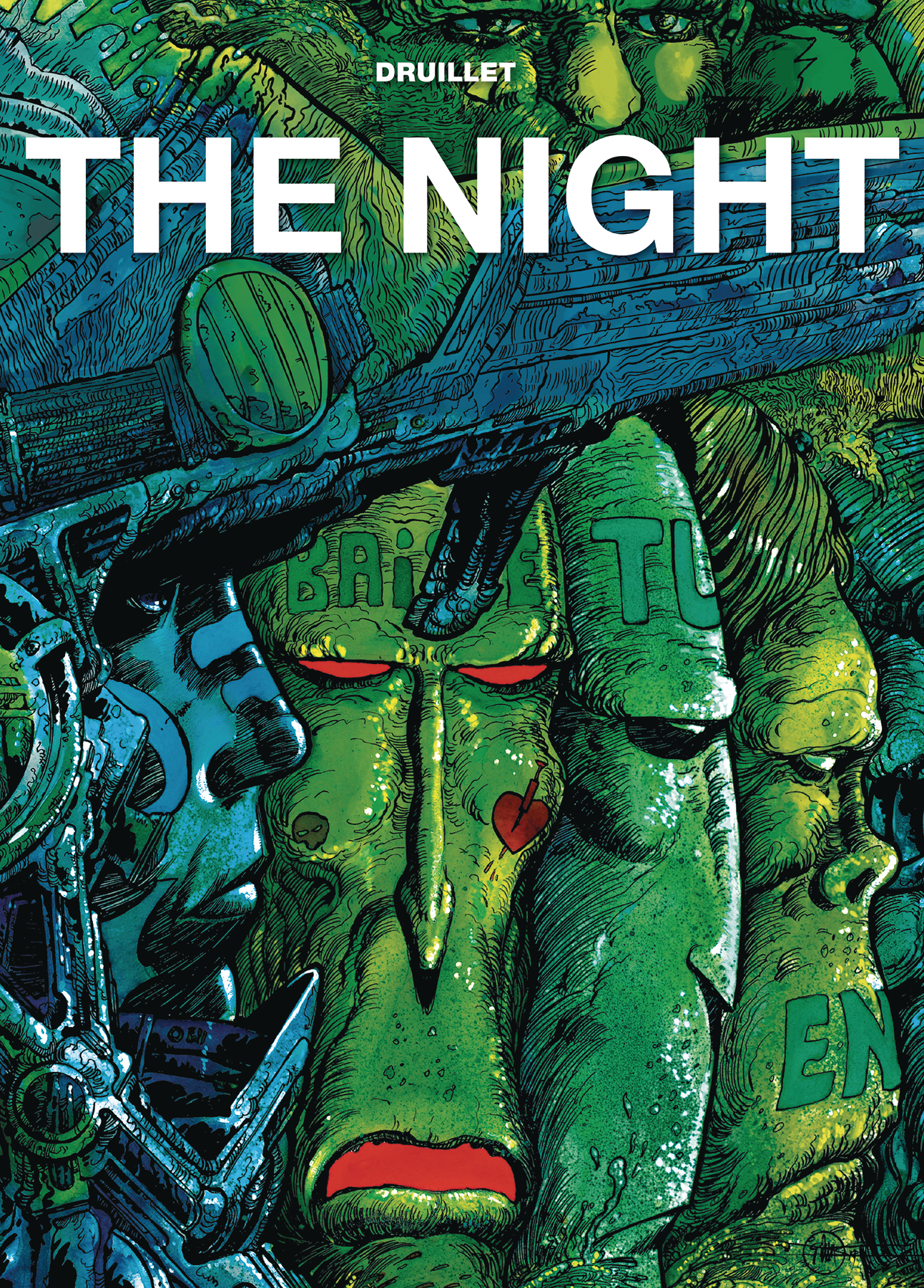 DRUILLETS THE NIGHT (LA NUIT) HC (RES) (MR)