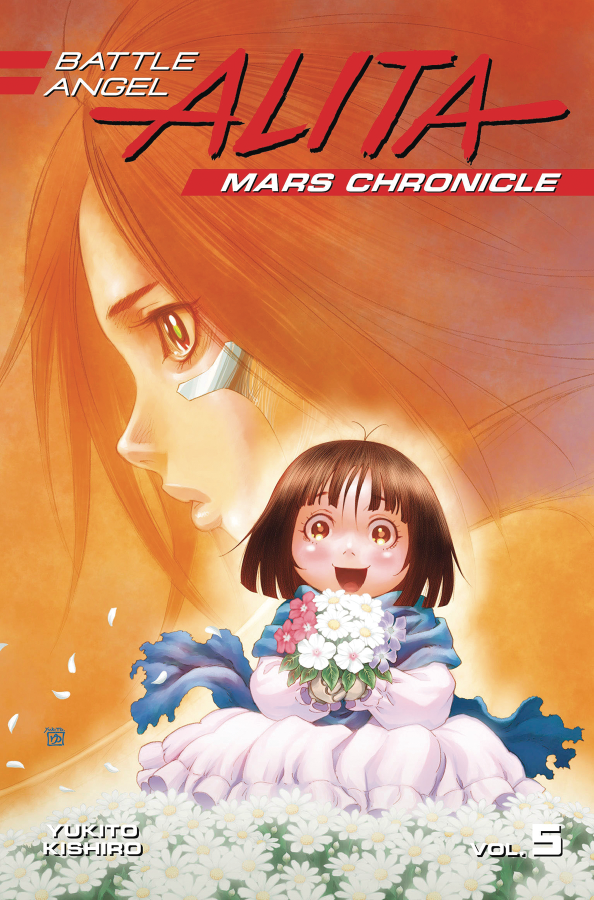 BATTLE ANGEL ALITA MARS CHRONICLE GN VOL 05