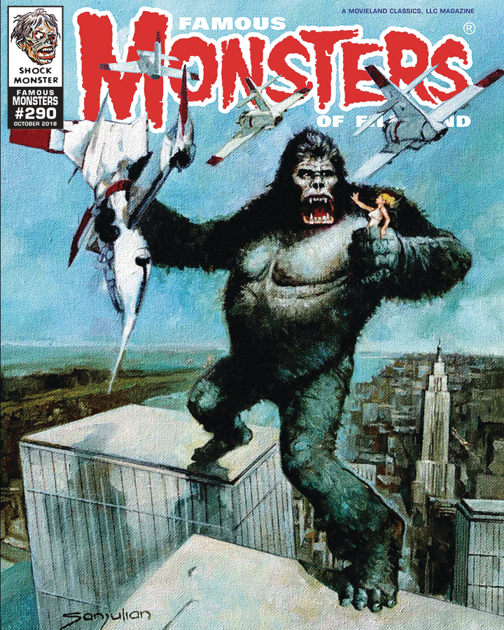 FAMOUS MONSTERS OF FILMLAND #290 2018 ANNUAL KONG VARIANT CV