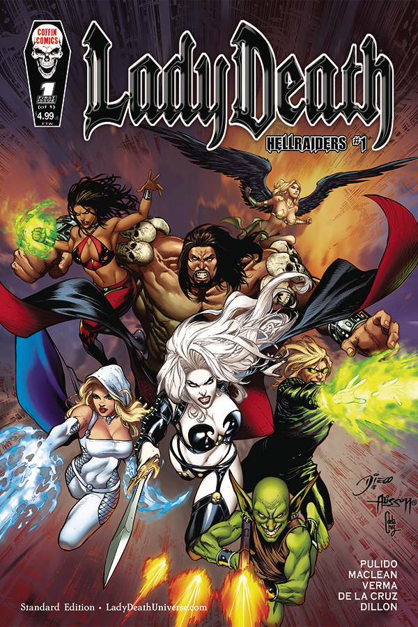 LADY DEATH HELLRAIDERS #1 (OF 1) STANDARD CVR (MR)