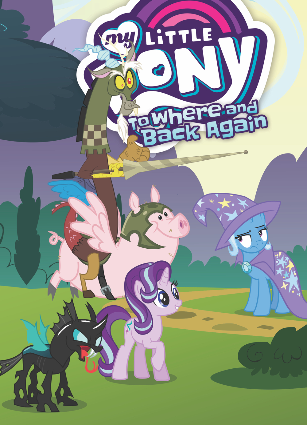 MY LITTLE PONY TO WHERE AND BACK AGAIN GN (O/A)