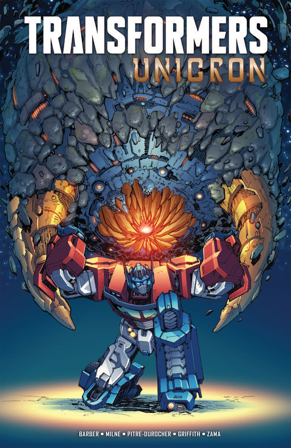 TRANSFORMERS UNICRON TP