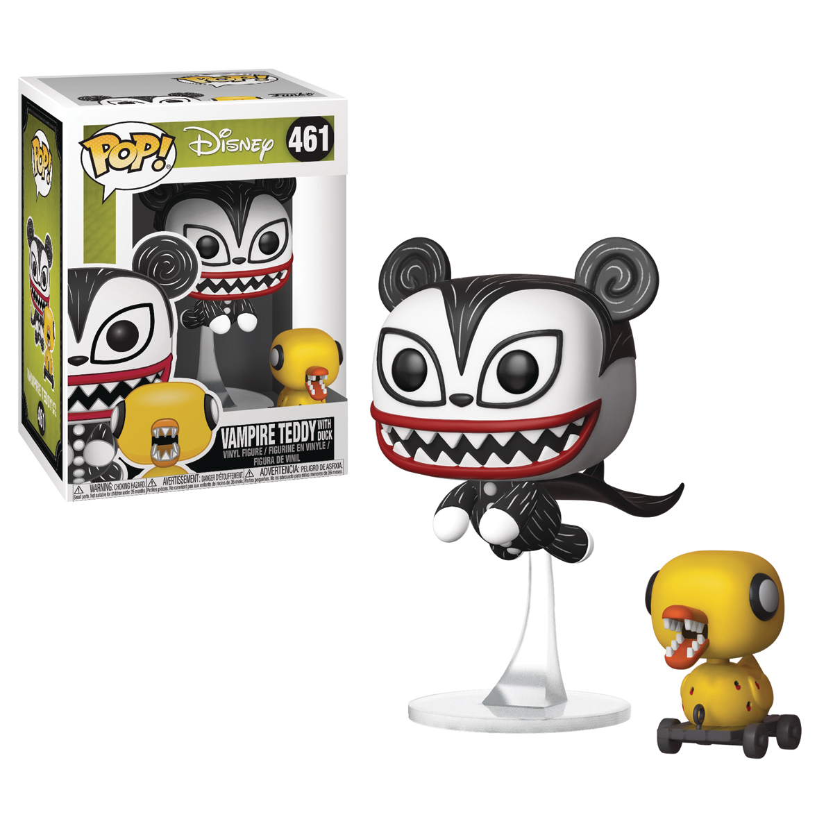 POP DISNEY NBX VAMPIRE TEDDY W/ DUCK