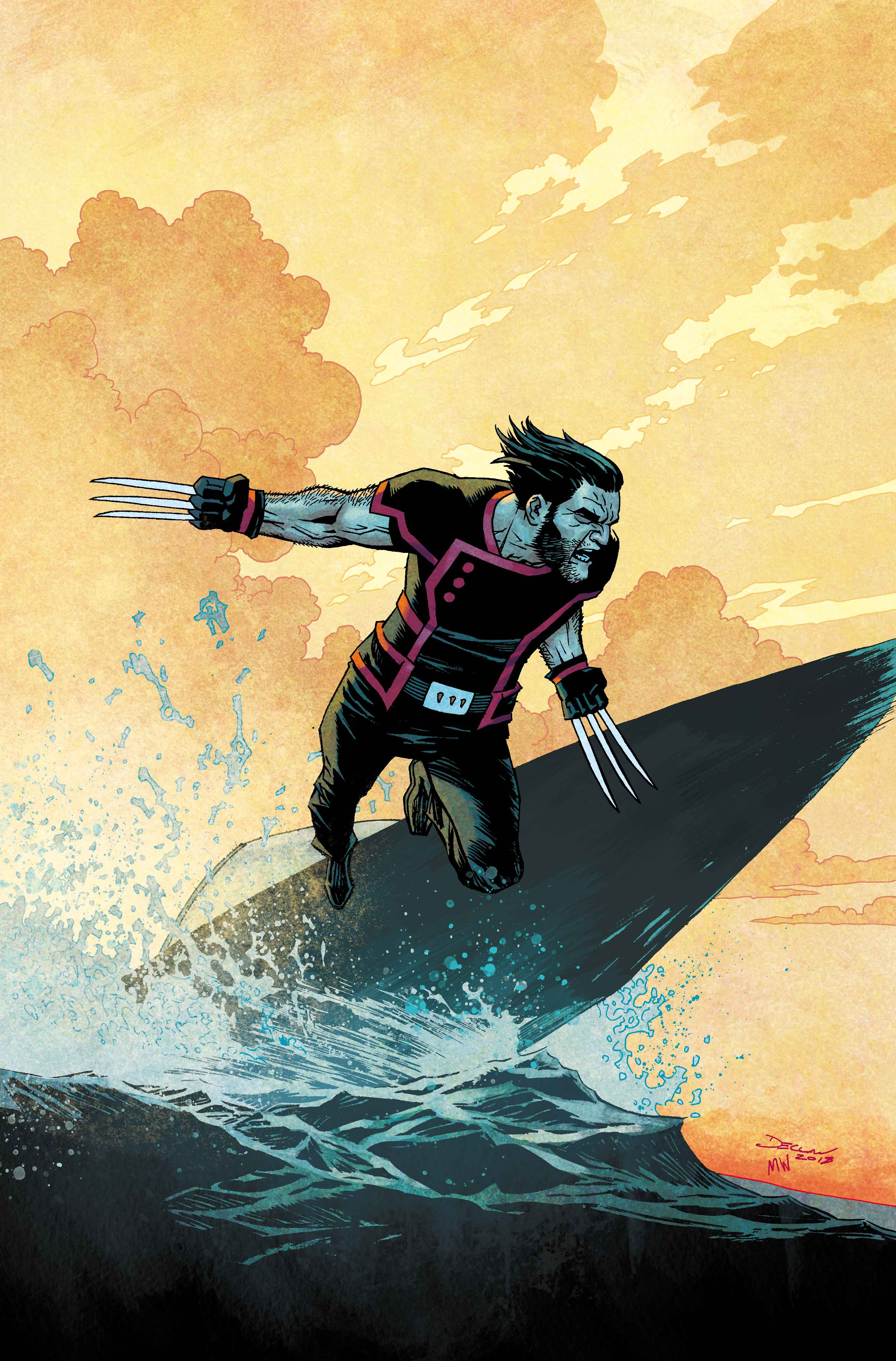RETURN OF WOLVERINE #2 (OF 5) SHALVEY VAR