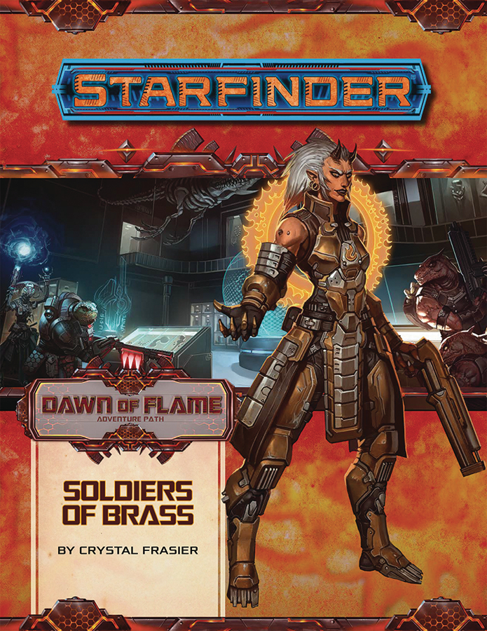 STARFINDER ADV PATH FIRE STARTERS DAWN FLAME PT 2 OF 6