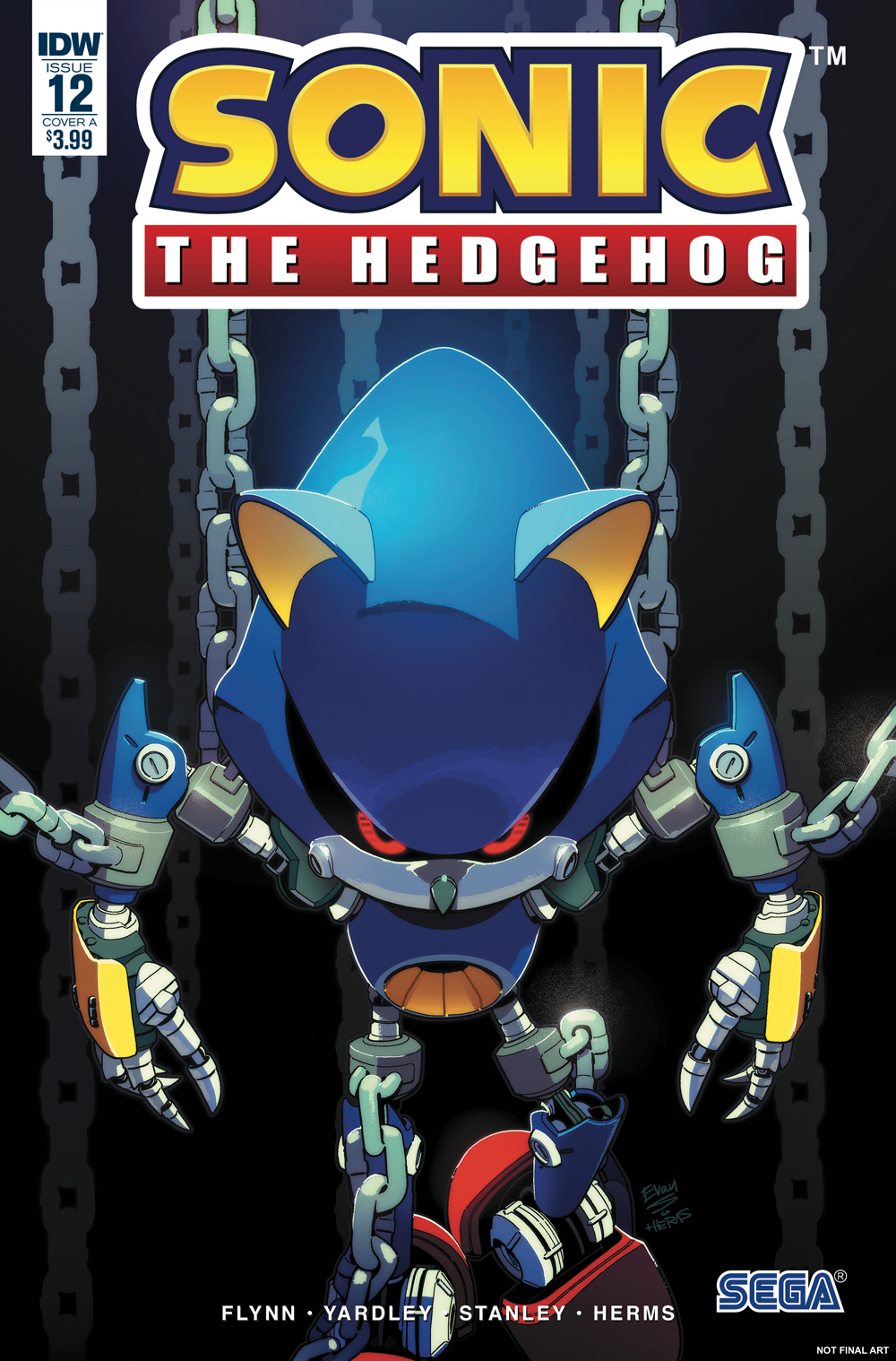 SONIC THE HEDGEHOG #12 CVR A STANLEY