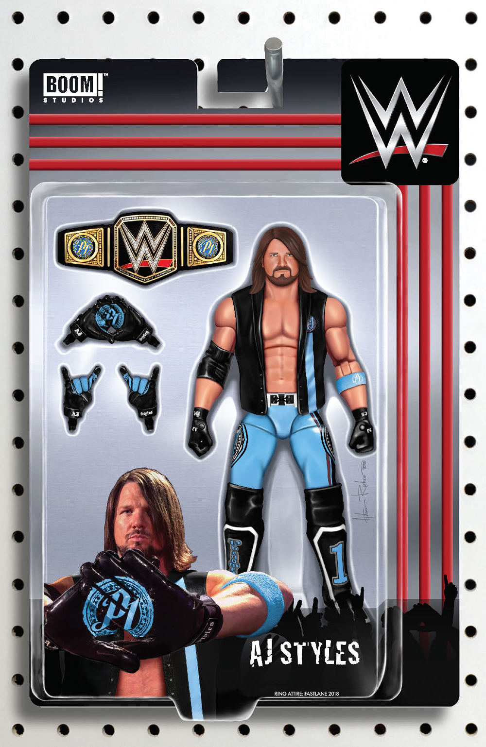 WWE #23 RICHES ACTION FIGURE VAR