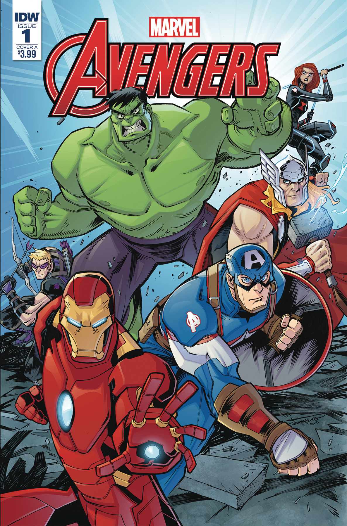 MARVEL ACTION AVENGERS #1 SOMMARIVA