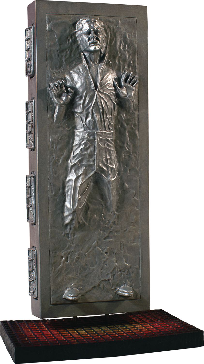 SW COLLECTORS GALLERY HAN SOLO CARBONITE 8IN STATUE