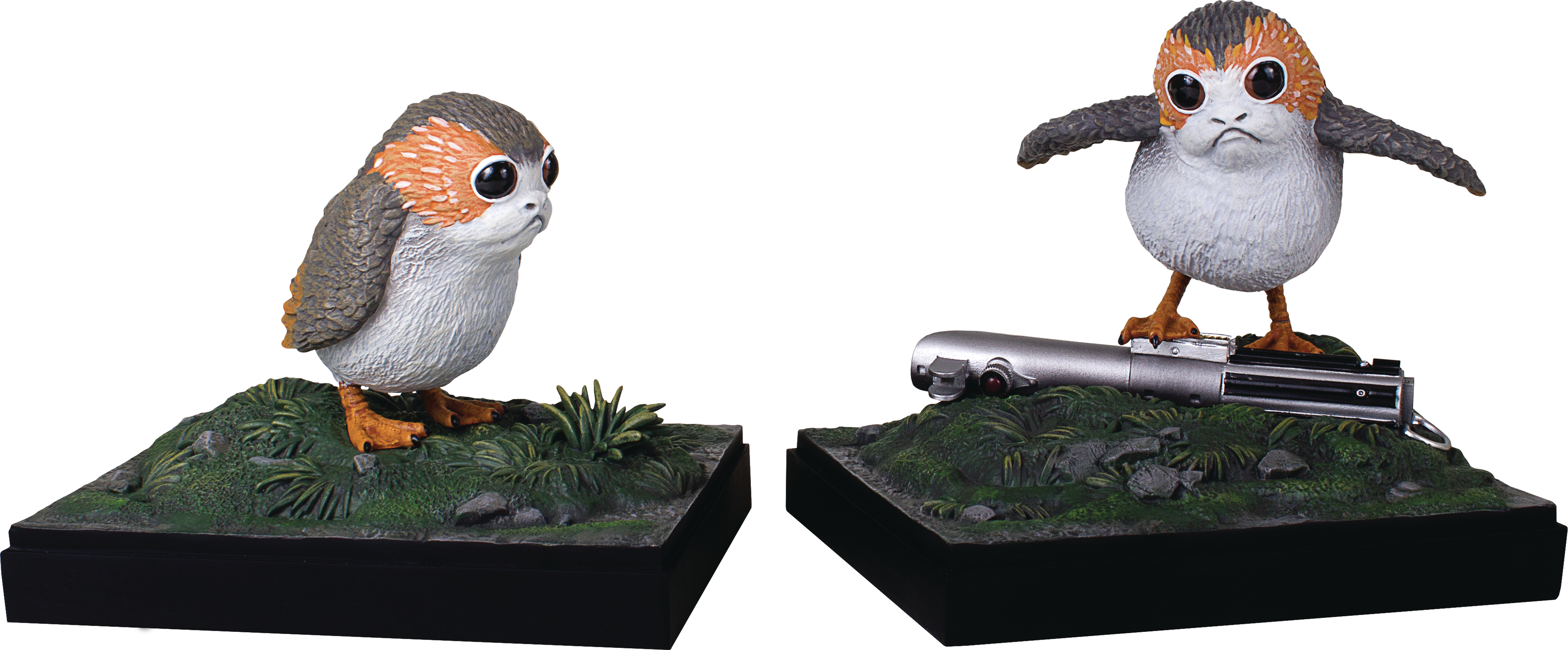 SW LAST JEDI PORG BOOKENDS
