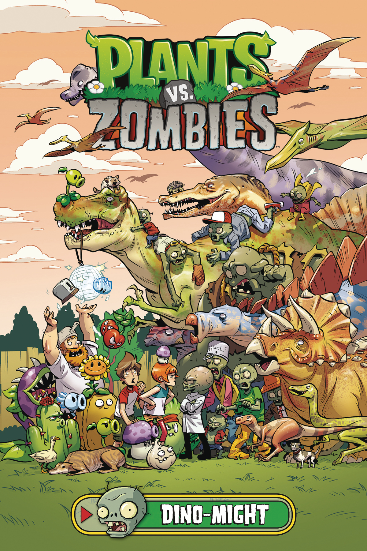 PLANTS VS ZOMBIES HC DINO-MIGHT (OCT180349)