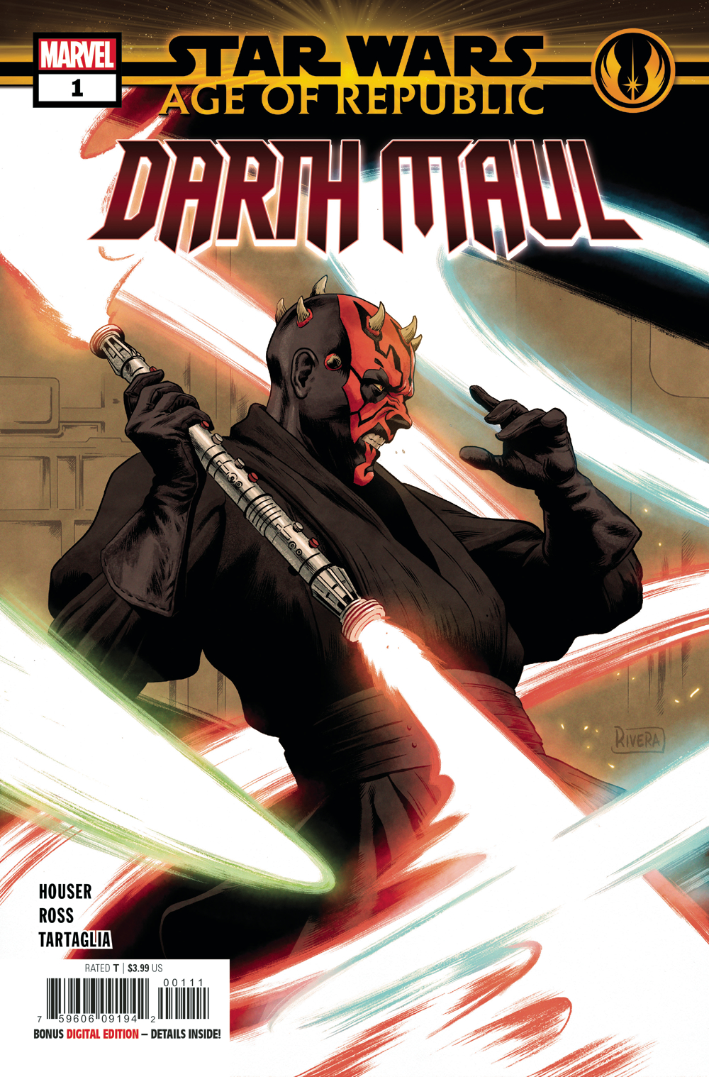 STAR WARS AGE REPUBLIC DARTH MAUL #1