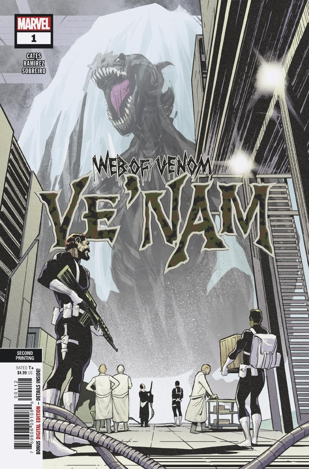 JUL188897 - WEB OF VENOM VE NAM #1 2ND PTG RAMIREZ VAR - Previews World