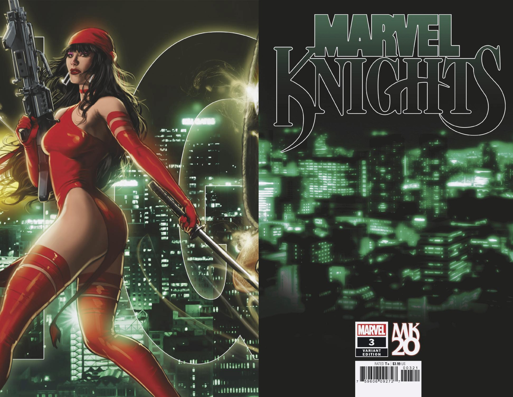 MARVEL KNIGHTS 20TH #3 (OF 6) ANDREWS CONNECTING VAR