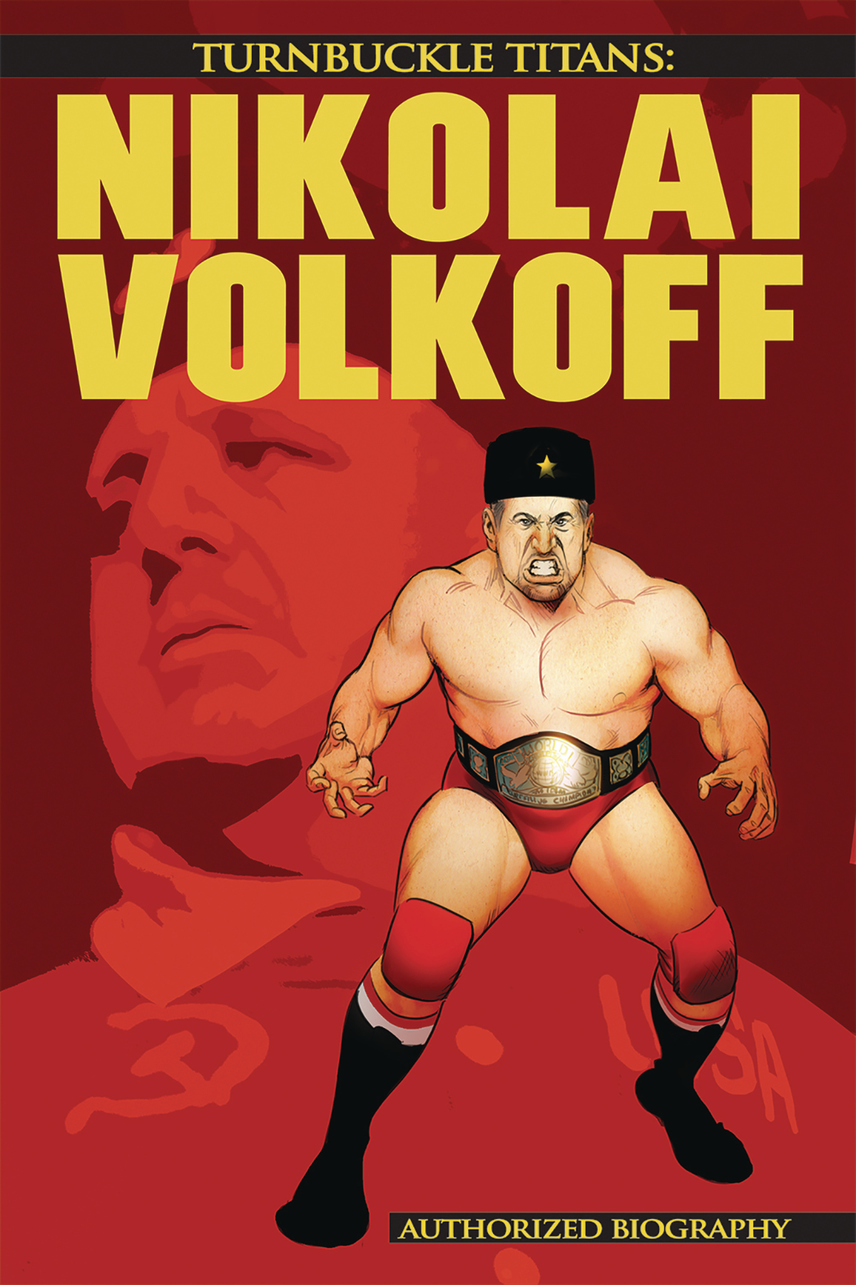 TURNBUCKLE TITANS #1 NIKOLAI VOLKOFF