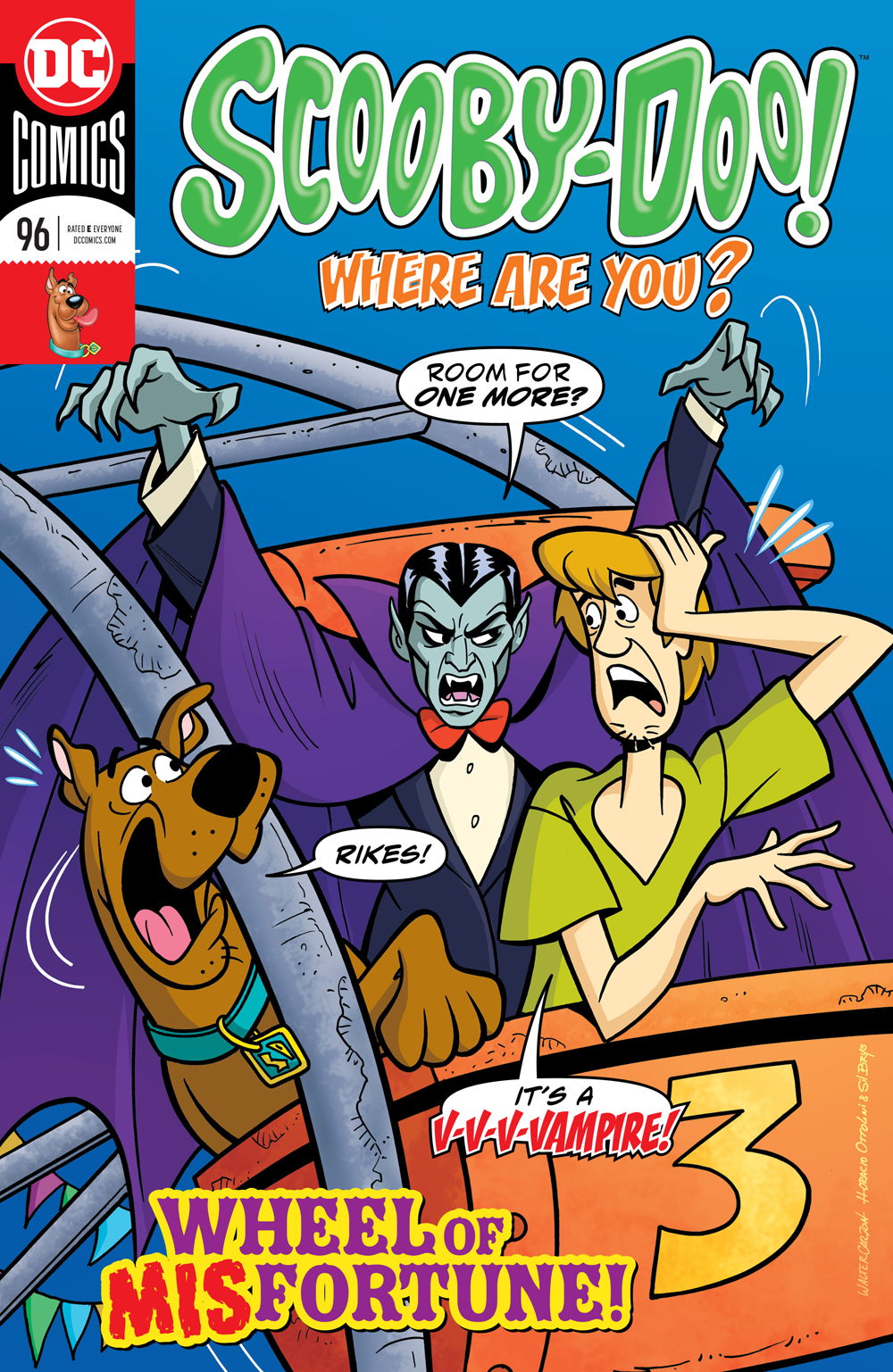 SCOOBY DOO WHERE ARE YOU #96