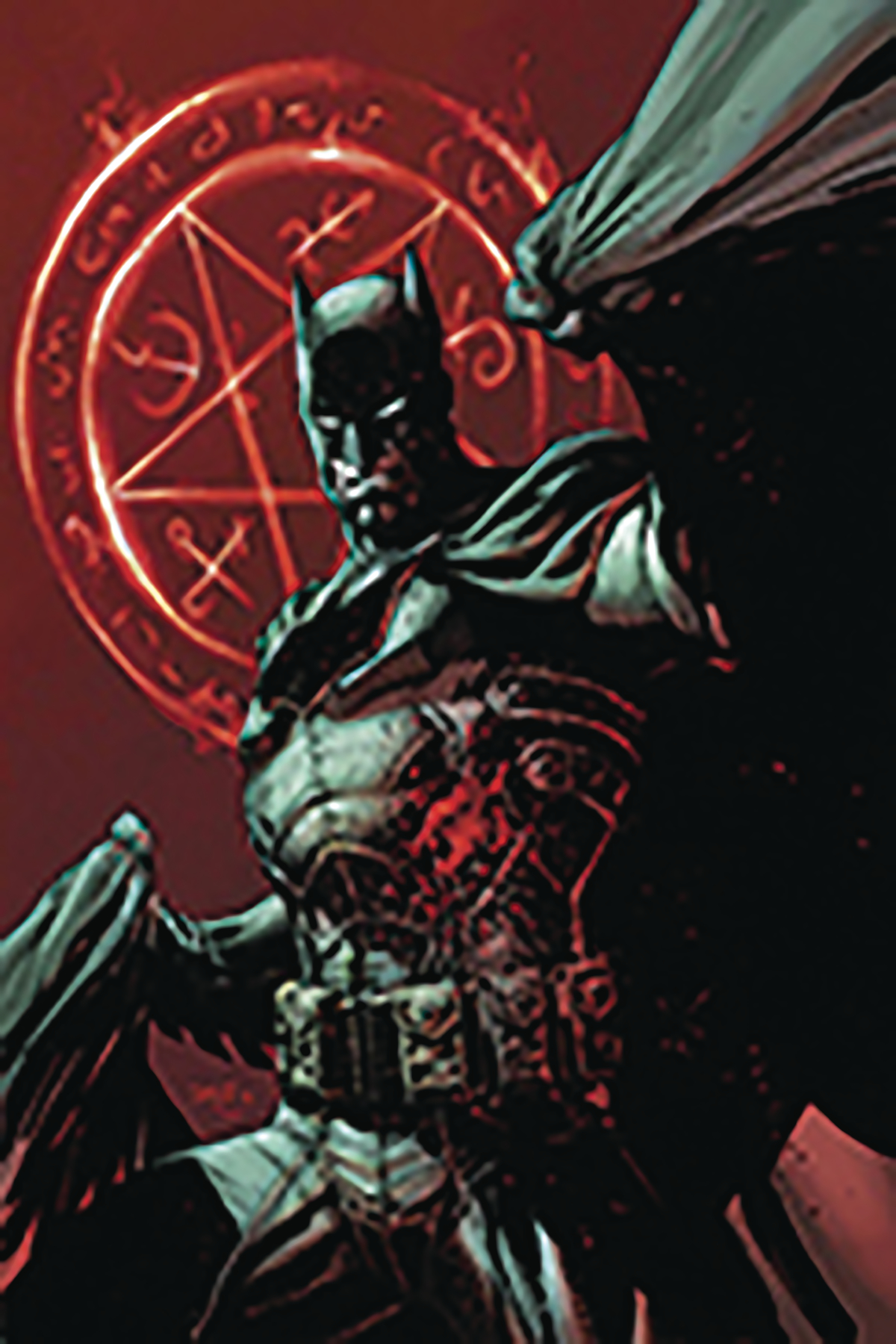 DF BATMAN DAMNED #1 SGN AZZARELLO LEE VAR