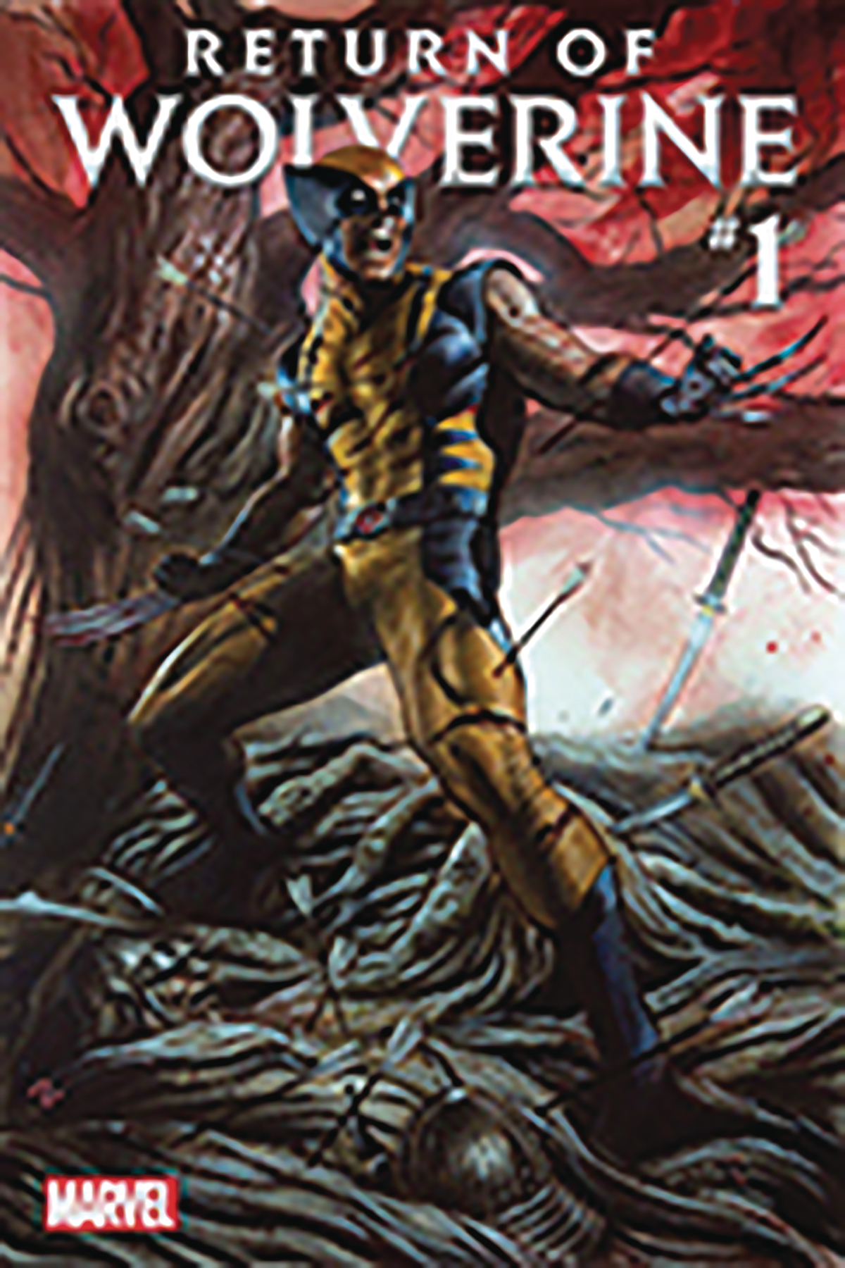 DF RETURN OF WOLVERINE #1 CSA SGN GRANOV EXC