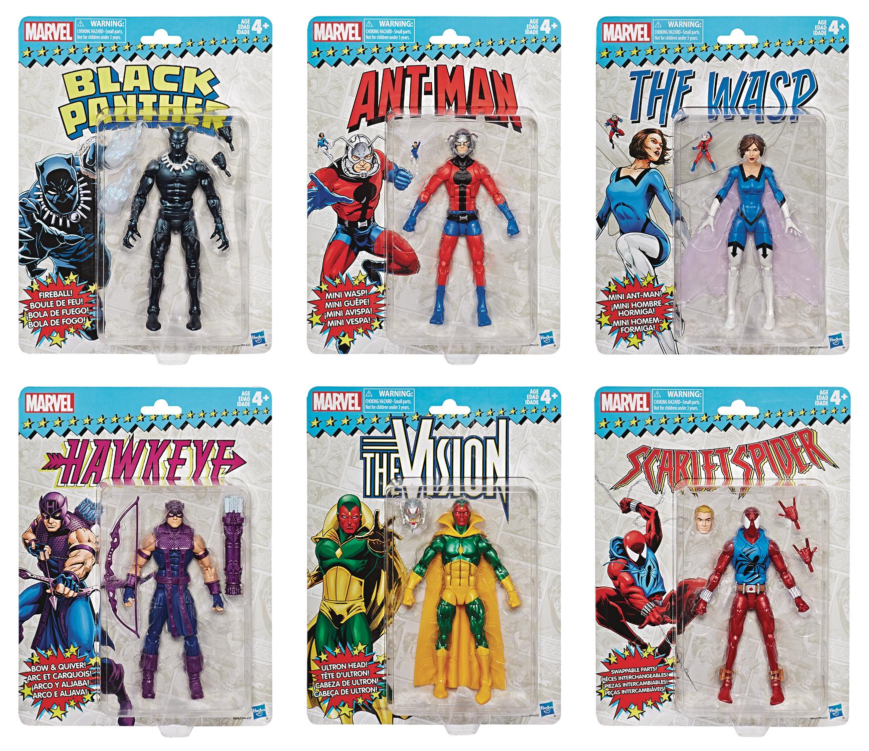 MARVEL SUPER HEROES VINTAGE 6IN AF ASST 201802 (JUL189