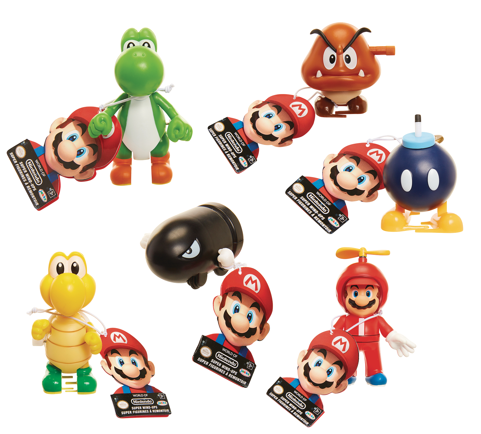 WORLD OF MARIO WIND-UP TOY DIS