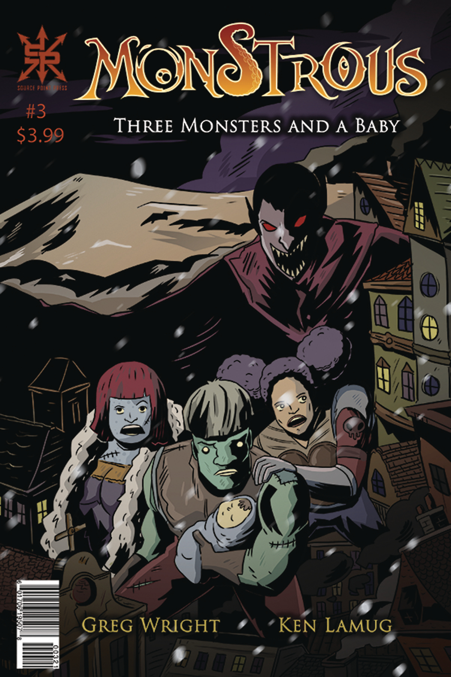 MONSTROUS #3 (OF 4)